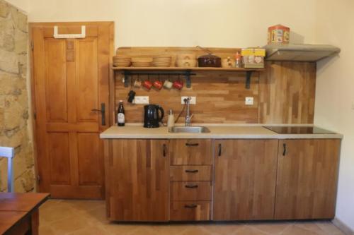 Ubytování V Hradu – kuchyňka